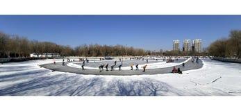 Shenyang labor park. stock photo