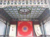 Shenyang  Palace Museum�of  china�Stage Royalty Free Stock Photo