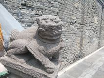 Shenyang  Palace Museum of  china Stock Images