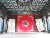 Shenyang  Palace Museum of  china-Stage Stock Image