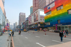 Shenyang streets Stock Images