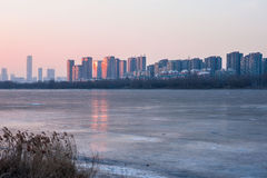 Shenyang winter scenery Stock Photography