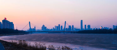Shenyang winter scenery Stock Photos