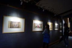 Shenzhen, Κίνα: έκθεση ζωγραφικής Στοκ φωτογραφία με δικαίωμα ελεύθερης χρήσης