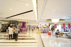 Shenzhen, Κίνα: Αγορές Plaza Στοκ φωτογραφία με δικαίωμα ελεύθερης χρήσης