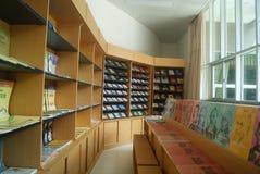 Shenzhen, Κίνα: Βιβλιοπωλείο μουσικής Στοκ εικόνα με δικαίωμα ελεύθερης χρήσης