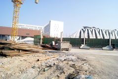 Shenzhen, Κίνα: βιομηχανικά κτήρια Στοκ Εικόνα