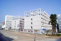Shenzhen, Κίνα: βιομηχανικά κτήρια Στοκ εικόνα με δικαίωμα ελεύθερης χρήσης