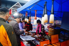 Shenzhen, Κίνα: βούρτσα καλλιγραφίας πώλησης Στοκ Εικόνα
