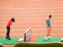 Shenzhen, Κίνα: γκολφ κατάρτισης Στοκ φωτογραφίες με δικαίωμα ελεύθερης χρήσης