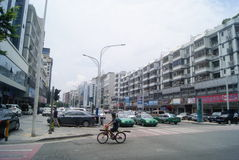 Shenzhen, Κίνα: 107 εθνική οδική κυκλοφορία Στοκ φωτογραφίες με δικαίωμα ελεύθερης χρήσης