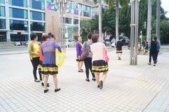 Shenzhen, Κίνα: Εμφάνιση θεάτρων Στοκ Φωτογραφία