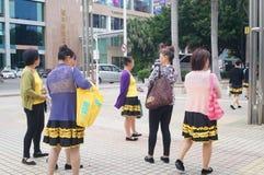 Shenzhen, Κίνα: Εμφάνιση θεάτρων Στοκ Φωτογραφίες