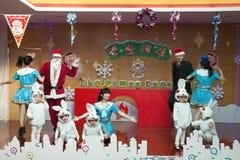 SHENZHEN, ΚΊΝΑ, 2011-12-23: Κινεζικός και ευρωπαϊκός παιδικός σταθμός τ Στοκ εικόνες με δικαίωμα ελεύθερης χρήσης