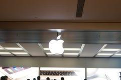 Shenzhen, Κίνα: Κινητό τηλεφωνικό κατάστημα της Apple Στοκ φωτογραφία με δικαίωμα ελεύθερης χρήσης