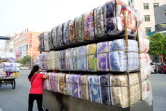 Shenzhen, Κίνα: μικροί έμποροι Στοκ εικόνες με δικαίωμα ελεύθερης χρήσης