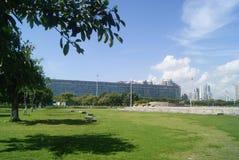 Shenzhen, Κίνα: Πάρκο Plaza προκυμαιών Στοκ Φωτογραφίες