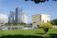 Shenzhen, Κίνα: Πάρκο Plaza προκυμαιών Στοκ φωτογραφίες με δικαίωμα ελεύθερης χρήσης