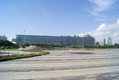 Shenzhen, Κίνα: Πάρκο Plaza προκυμαιών Στοκ Φωτογραφία