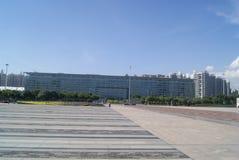 Shenzhen, Κίνα: Πάρκο Plaza προκυμαιών Στοκ εικόνα με δικαίωμα ελεύθερης χρήσης