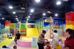 Shenzhen Κίνα: παιδική χαρά παιδιών Στοκ Φωτογραφία