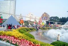 Shenzhen, Κίνα: παράθυρο στα παγκόσμια τουριστικά αξιοθέατα Στοκ Εικόνες