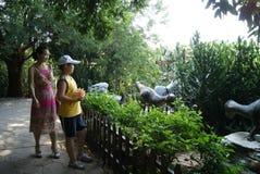 Shenzhen, Κίνα: παράθυρο του φυσικού τομέα παγκόσμιου τουρισμού Στοκ εικόνες με δικαίωμα ελεύθερης χρήσης