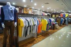 Shenzhen, Κίνα: πωλήσεις ιματισμού Στοκ Εικόνα