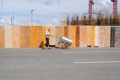 Shenzhen, Κίνα: το εργοτάξιο οικοδομής του γερανού πύργων Στοκ φωτογραφία με δικαίωμα ελεύθερης χρήσης