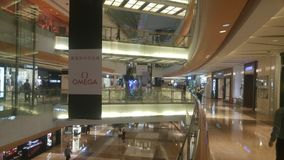 Shenzhen, Κίνα: το εσωτερικό τοπίο του plaza αγορών Στοκ φωτογραφίες με δικαίωμα ελεύθερης χρήσης