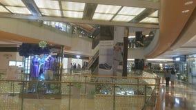 Shenzhen, Κίνα: το εσωτερικό τοπίο του plaza αγορών Στοκ Φωτογραφία