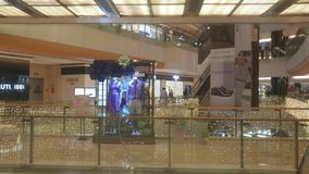 Shenzhen, Κίνα: το εσωτερικό τοπίο του plaza αγορών Στοκ Εικόνες