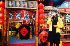 Shenzhen, Κίνα: Φεστιβάλ αγορών Στοκ φωτογραφία με δικαίωμα ελεύθερης χρήσης