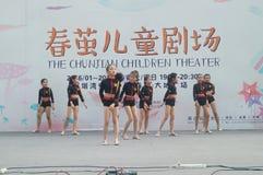 Shenzhen, Κίνα: Φεστιβάλ μουσική ποπ παιδιών Στοκ Φωτογραφίες