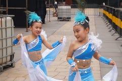 Shenzhen, Κίνα: Φεστιβάλ μουσική ποπ παιδιών Στοκ εικόνες με δικαίωμα ελεύθερης χρήσης