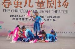 Shenzhen, Κίνα: Φεστιβάλ μουσική ποπ παιδιών Στοκ φωτογραφίες με δικαίωμα ελεύθερης χρήσης