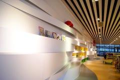 Shenzhen, Κίνα: baoan βιβλιοθήκη «s ανοικτή Στοκ Φωτογραφίες