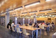 Shenzhen, Κίνα: baoan βιβλιοθήκη «s ανοικτή Στοκ Εικόνες