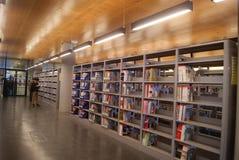 Shenzhen, Κίνα: baoan βιβλιοθήκη «s ανοικτή Στοκ Φωτογραφία