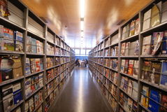 Shenzhen, Κίνα: baoan βιβλιοθήκη «s ανοικτή Στοκ φωτογραφίες με δικαίωμα ελεύθερης χρήσης
