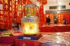 Shenzhen, Κίνα: Couplets φεστιβάλ άνοιξη πωλήσεις καταστημάτων Στοκ εικόνα με δικαίωμα ελεύθερης χρήσης