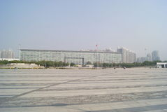 Shenzhen, Κίνα: plaza προκυμαιών Στοκ φωτογραφία με δικαίωμα ελεύθερης χρήσης