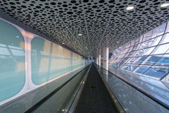Shenzhen Airport facility Royalty Free Stock Image
