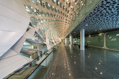 Shenzhen Airport facility Stock Images