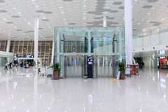 Shenzhen airport interior Stock Image