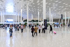 Shenzhen airport interior Royalty Free Stock Photography