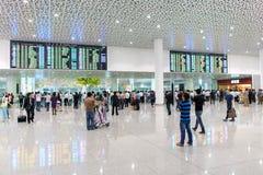 Shenzhen airport interior Royalty Free Stock Photos