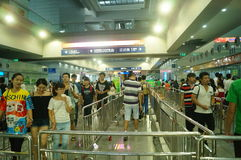 Shenzhen Animation Festival, people in the purchase of tickets to participate in activities Royalty Free Stock Photos