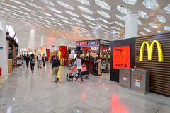 Shenzhen Bao'an International Airport Stock Image