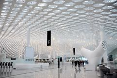 Shenzhen Bao'an International Airport Royalty Free Stock Photography
